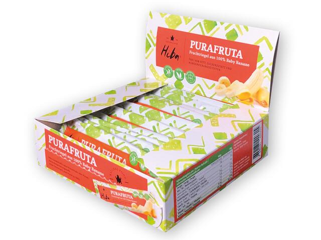 Hiba Purafruta Energy Bar Box 12x30g, Baby Banana